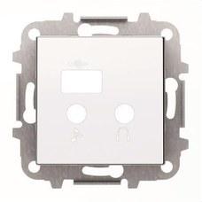 NIESSEN 8568.3 BL TAPA MODULO ENTRADAS/SALIDAS+USB SKY BL.