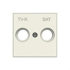 NIESSEN 8550.1 BL Tapa toma TV+R/SAT SKY blanco
