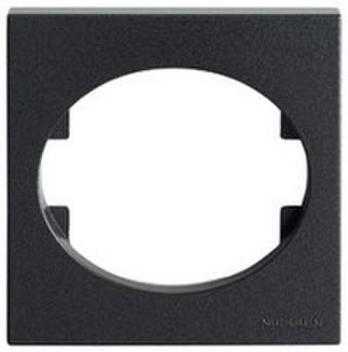 Marco 2 elementos horizontales Tacto antracita
