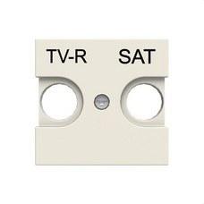 NIESSEN N2250.1 BL Tapa toma TV-R/SAT Zenit blanco