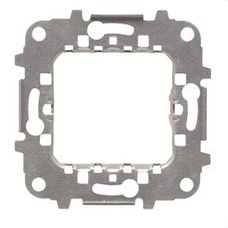 NIESSEN N2271.9 Bastidor de 1 elemento 2 módulos Zenit plata