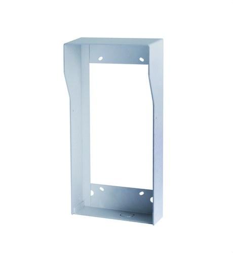 Visera para placa de calle tamaño 1/2 Welcome aluminio