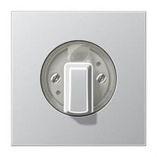 JUNG AL1941 Tecla giratoria Serie LS aluminio