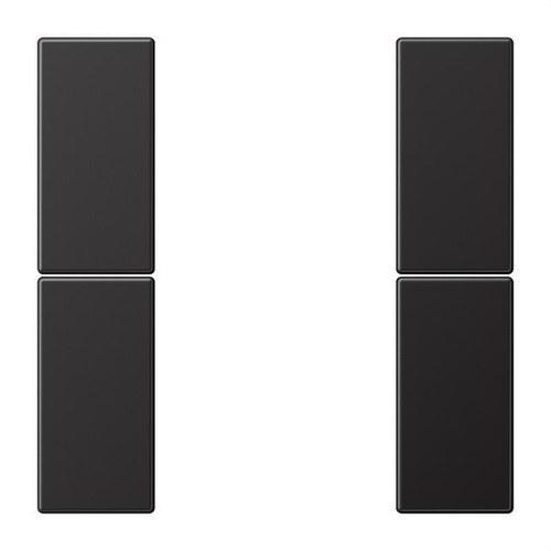 Juego teclas F50 KNX 2 fases para Serie LS dark