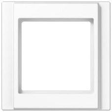 JUNG A581WW Marco embellecedor simple 81x81mm A500 blanco alpino