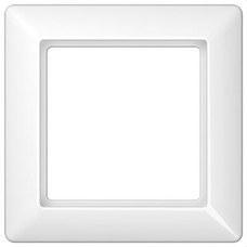JUNG AS581WW Marco embellecedor montaje vertical horizontal blanco simple