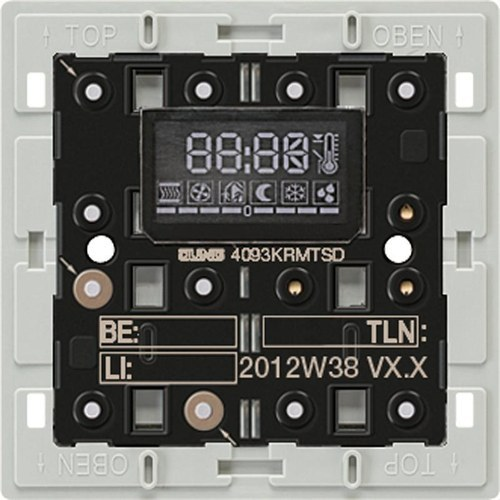 Controlador PL KNX con tecla + display 1 elemento