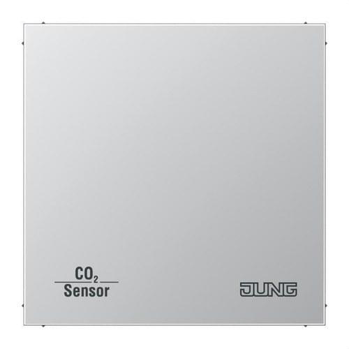 Sensor KNX calidad aire CO2 con BCU aluminio