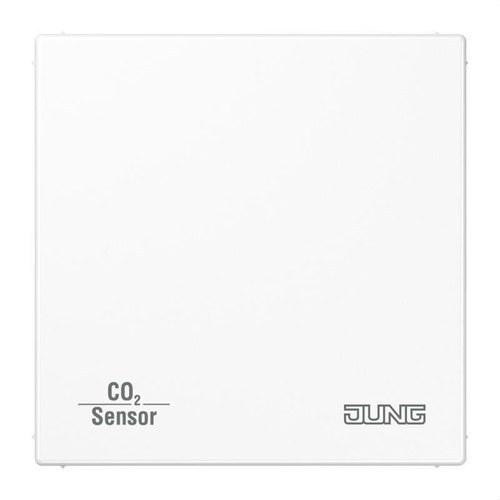 Sensor KNX calidad aire CO2 con BCU blanco alpino
