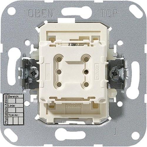 Pulsador sencillo KNX 1 fase con acoplador