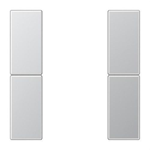 Juego teclas F50 KNX 2 fases para Serie LS aluminio