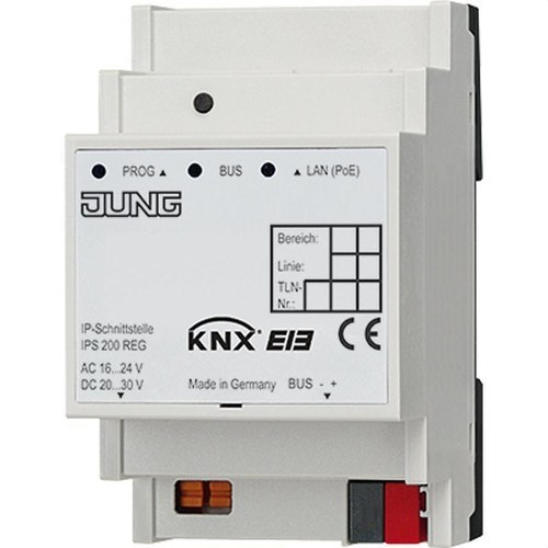 Módulo comunicación KNX IP DIN 2 módulos