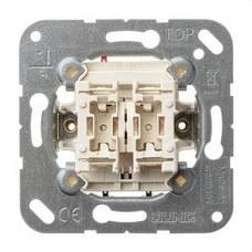 JUNG 505U Mecanismo doble interruptor 10AX 250V