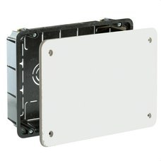SOLERA 5314 Caja de conexión de empotrar en tabique hueco 194x154mm tornillo 8 entradas tubo diámetro 2
