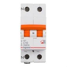LEGRAND 419925 Magnetotérmico vivienda RX3 1P + N 6kA 10A