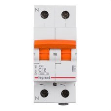 LEGRAND 419926 Magnetotérmico vivienda RX3 1P + N 6kA 16A