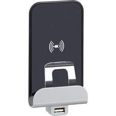 LEGRAND 077598 Cargador de inducción MOSAIC con base para carga USB tipo A