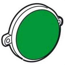 LEGRAND 775946 Piloto baliza aluminio zócalo diferencial verde GALEA