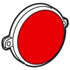 LEGRAND 775948 Piloto baliza aluminio zócalo diferencial rojo GALEA