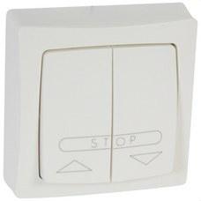 LEGRAND 086010 Mecanismo doble pulsador persiana serie cuadrada OTEO