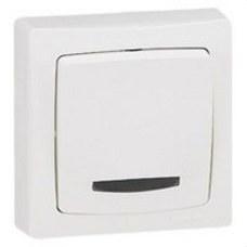 LEGRAND 086017 Mecanismo interruptor conmutador con visor serie cuadrada OTEO