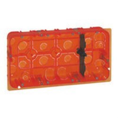 Caja empotrar MOSAIC-II 2x10 módulos