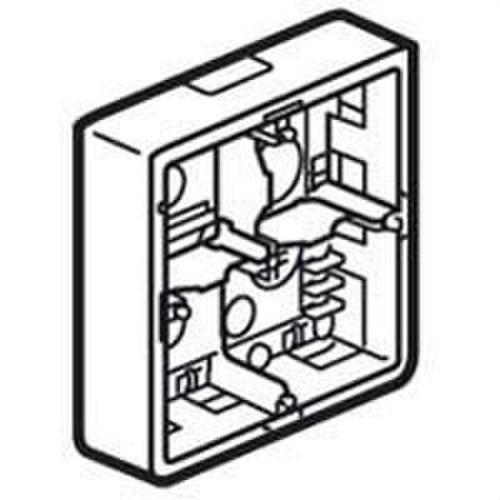 Caja superior MOSAIC-II 2x5 módulos