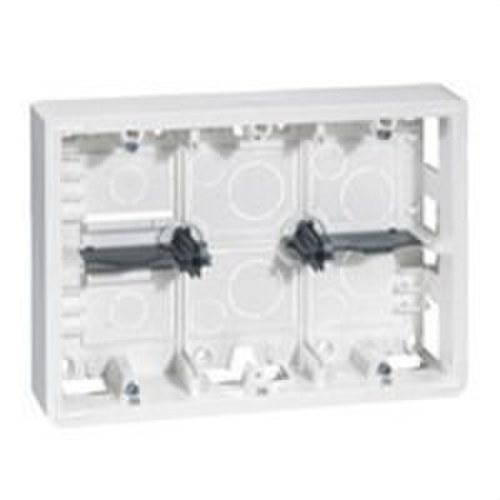 Caja superior MOSAIC-II 2x6-8 módulos