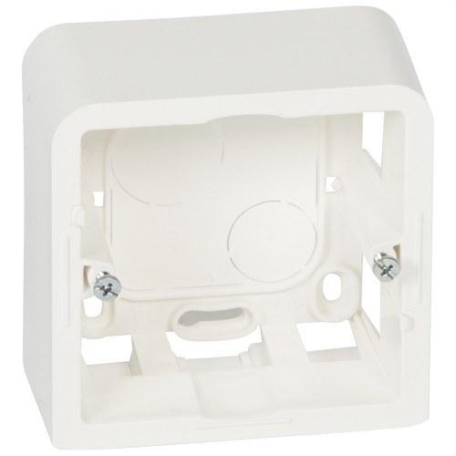 Caja superior MOSAIC-II 2 módulos 40mm