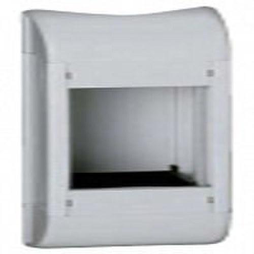 Bloque columna vacío 4 módulos blanco