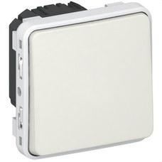 LEGRAND 069630 Pulsador 10A plexo E/S blanco