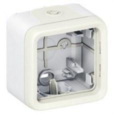 LEGRAND 069689 Caja superficie 1 posición plexo blanco