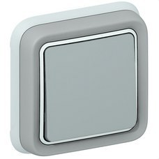 LEGRAND 069811 Conmutador empotrar plexo gris