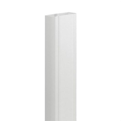 Canal monobloc 50x80mm PVC blanco