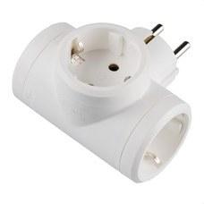 LEGRAND 050662 Adaptador 3x2P + T 16A blanco