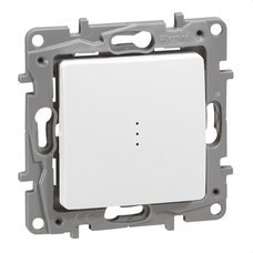 LEGRAND 664710 Conmutador luminoso NILOE 10AX 250V blanco