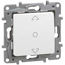 LEGRAND 664711 Conmutador persiana NILOE 3 posiciones blanco
