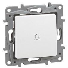 LEGRAND 664715 Pulsador luminoso NILOE 6A 250V blanco