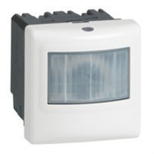 Detector PIR 180º blanco sin neutro