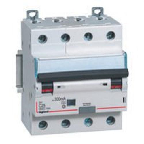 Magnetotérmico diferencial DX3 4P 300mA C25