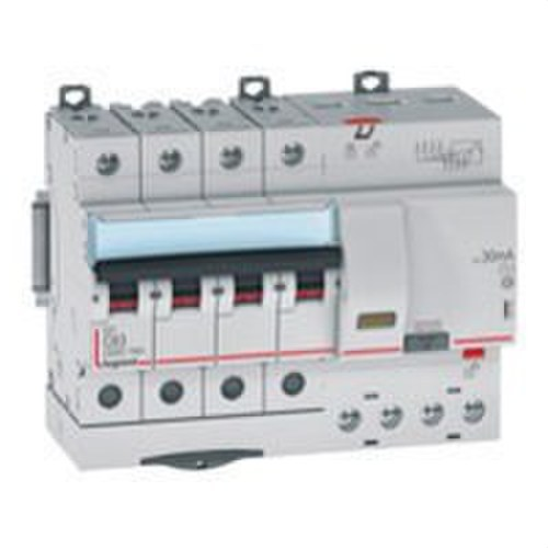 Magnetotérmico diferencial DX3 4P 300mA C40