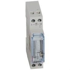 LEGRAND 412780 Interruptor horario analógico SR/D/1x16 1 módulo
