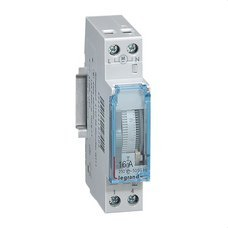 LEGRAND 412790 Interruptor horario analógico CR/D/1x16 1 módulo