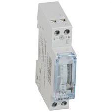 LEGRAND 412794 Interruptor horario analógico CR/S/1x16 1 módulo