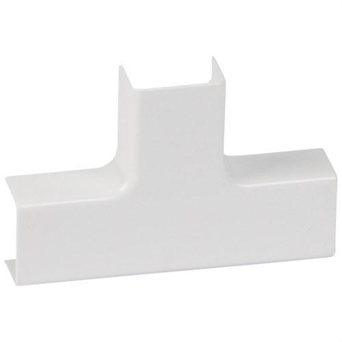 Derivación T para canal DLP 20x12,5mm PVC
