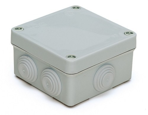 Caja derivación estanca 100x100 PG16 tornillo