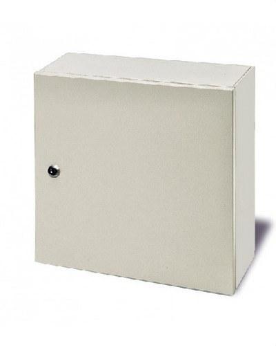 Armario ICT 450x450x150 empotrar IP55 de color blanco