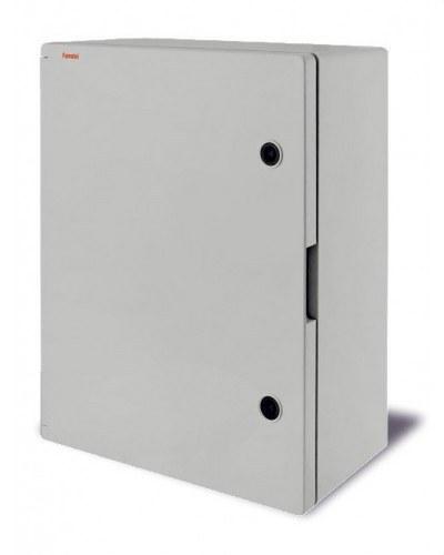 ARMARIO 500X400X175 IP65 + PLACA DE MONTAJE METALICA + LLAVE TRIANGULO
