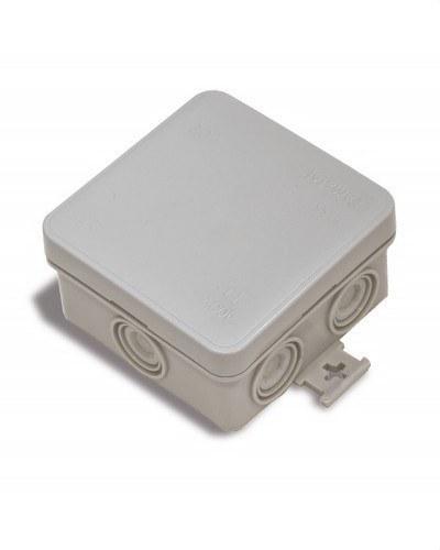 Caja estanca 75x75x39 tapa presión libre de halógenos
