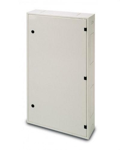Armario ICT 450x450x150 IP33 empotrable de color blanco